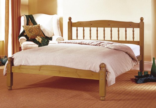 Vancouver  Bed Frame (Antique Pine) - Airsprung Beds