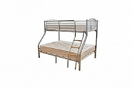 Valencia 3 Three Sleeper Bunk Bed (Silver) - Ambers International
