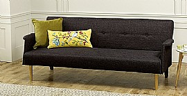 Vega Sofa Bed (Black) - Limelight Beds