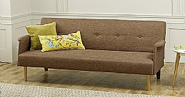 Vega Sofa Bed (Chestnut Brown) - Limelight Beds