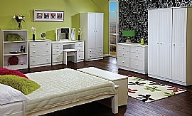 Warwick (White) Bedroom Range - Welcome Furniture