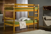 Weston Bunk Bed (Antique Pine) - Birlea Furniture Ltd