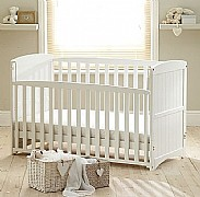 Anna Cot Bed (White) - Siesta Trading