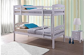 Chatsworth Bunk Bed (White) - Birlea Furniture