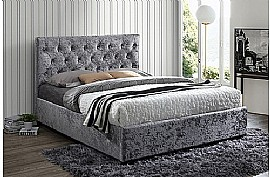 Cologne Fabric Bed Frame (Steel) - Birlea Furniture