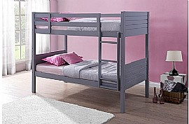 Dakota Bunk Bed (Grey) - Birlea Furniture