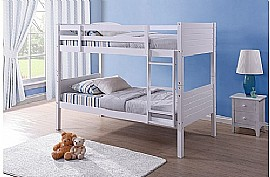 Dakota Bunk Bed (White) - Birlea Furniture