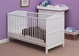 Emma Cot Bed (White) - Siesta Trading