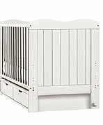 Giselle Cot Bed (White) - Siesta Trading