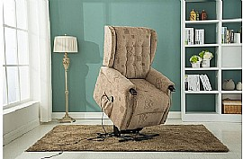 Keswick Rise and Recline Chair (Wheat) - Birlea Furniture