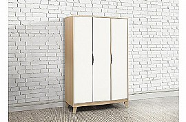 Kingston Bedroom Furniture (Beech & White) - Birlea Furniture