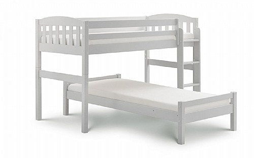 Max 7 Combination Bed (Dove Grey or Stone White) - Julian Bowen