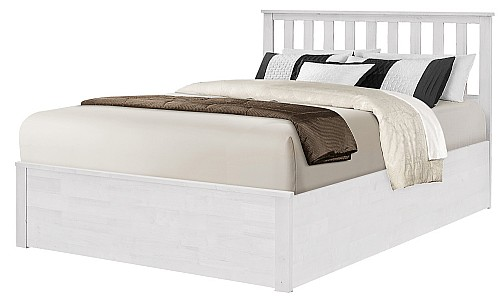 New  Stanley Wood Ottoman Storage Bed Frame