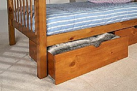 Pavo Underbed Drawers (Pine) - Limelight