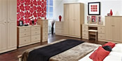 Pembroke (Light Oak Finish)  Bedroom Range  - Welcome Furniture