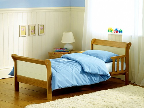 Phoebe Junior Bed (Country/Ivory) - Siesta Trading
