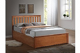 Phoenix Ottoman Bed Frame (Oak) - Birlea Furniture