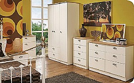 Victoria (Cream Ash & Oak) Bedroom Range - Welcome Furniture