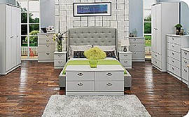 Victoria (Grey Matt) Bedroom Range - Welcome Furniture