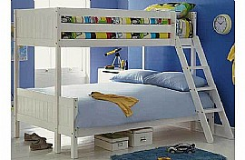Oldbury Triple Bunk Bed Frame (White) - BCBz