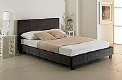 Valencia Bed (Charcoal Fabric) -  Emporia