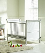 Vicky Cot Bed (White) - Siesta Trading
