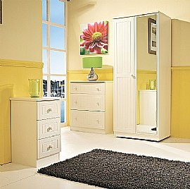 Warwick Bedroom Furniture (Cream) - Welcome Furniture